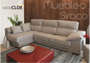 Muebles Siroco Málaga #cambiatusofá modelo Cloe