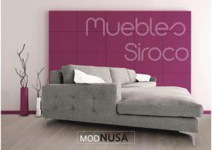 Muebles Siroco Málaga #cambiatusofá modelo Nusa